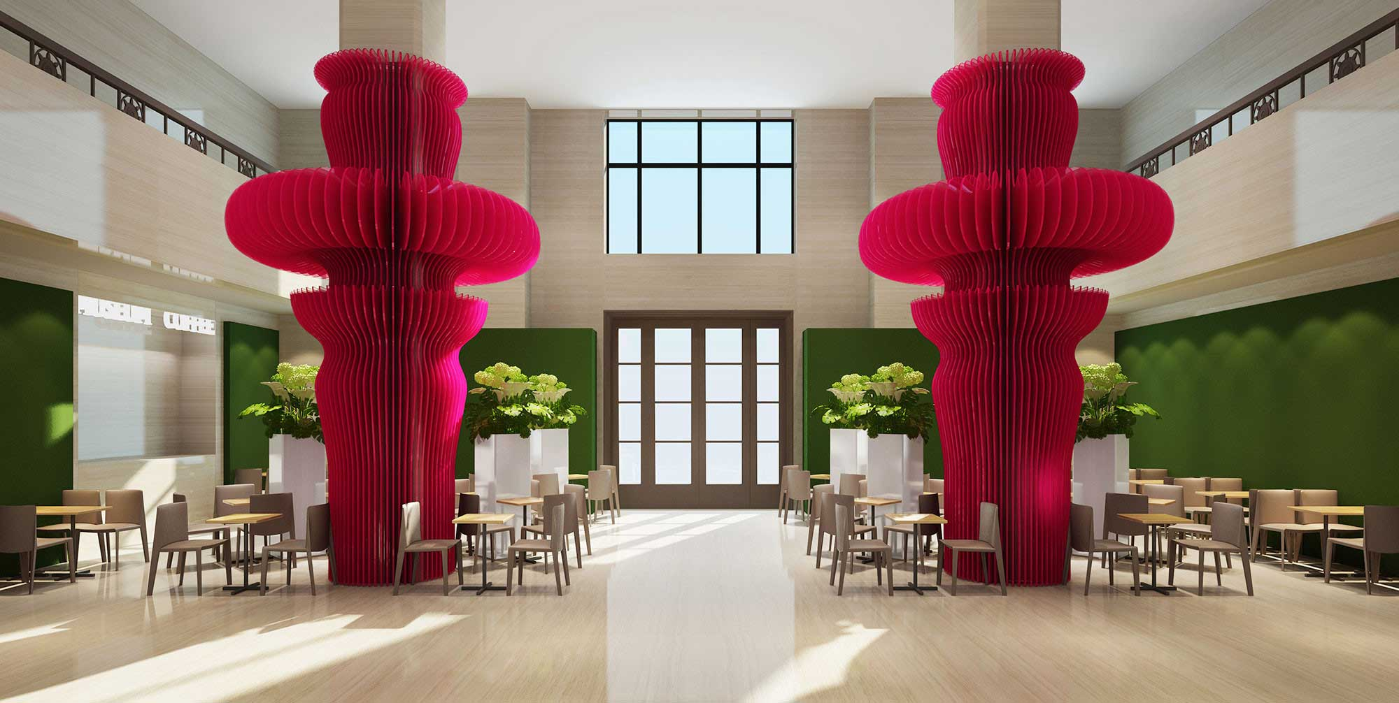 Wang Kaifang Cafe Design-